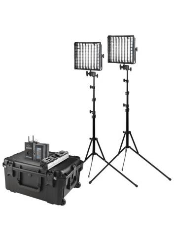Westcott Flex Cine DMX 2-Light Travel Kit (1x1)