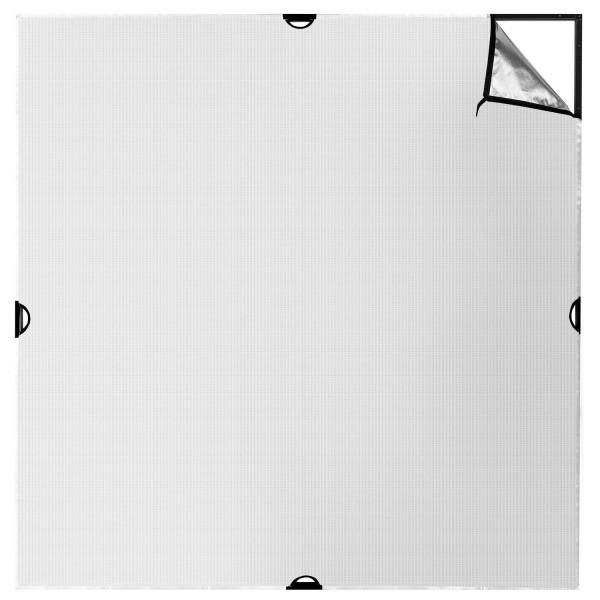 Westcott Scrim Jim Cine 2-in-1 Silver/White Bounce Fabric