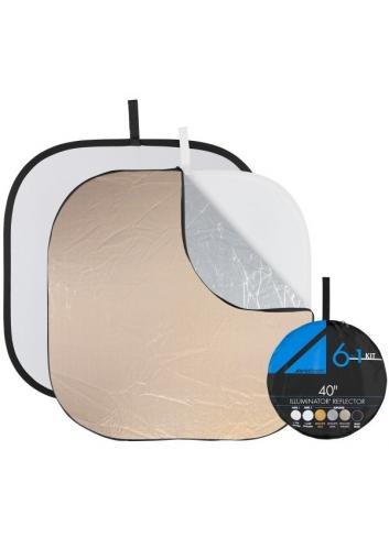 Westcott Illuminator Collapsible 6-in-1 Reflector Kit