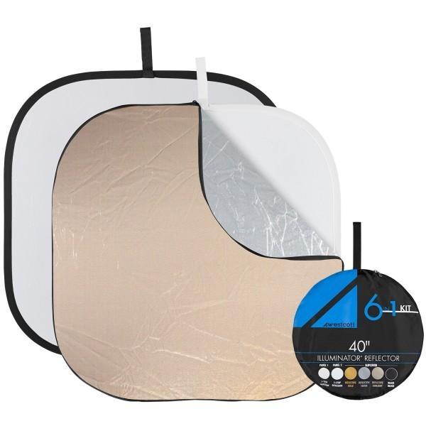 Westcott Illuminator Collapsible 6-in-1 Reflector Kit