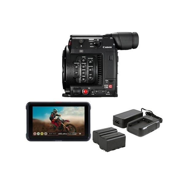 Canon C200 ATOMOS NINJA V POWER KIT