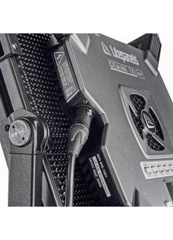 Litepanels Gemini 1x1 Soft Panel - EU - Pole Operated Yoke