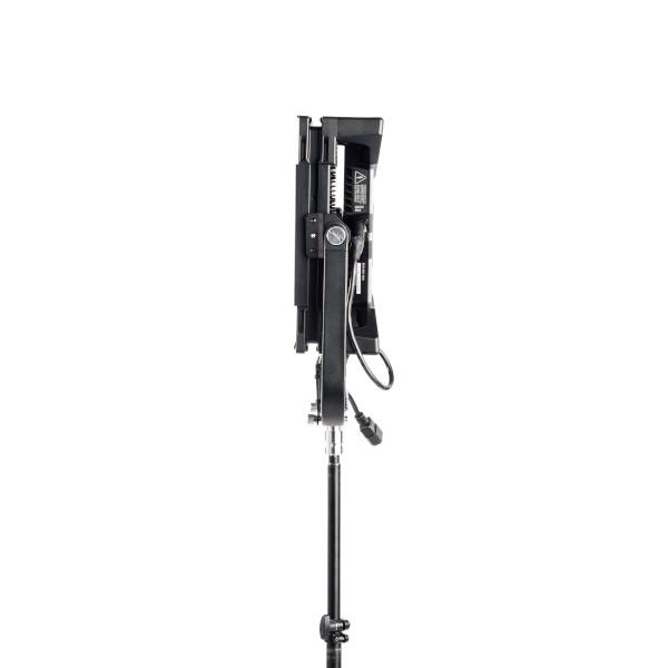 Litepanels Gemini 1x1 Soft Panel - EU - Pole Operated Yoke