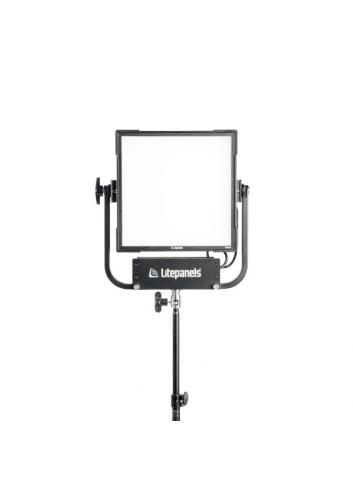 Litepanels Gemini 1x1 Soft Panel - PO - EU -Pole Operated Yoke