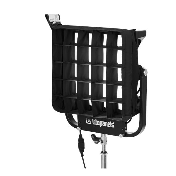 Litepanels Snapgrid 40 deg Eggcrate for Gemini 1x1 Fixture