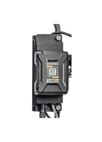 Litepanels - Adaptador de baterías con V-mount para Gemini 1x1