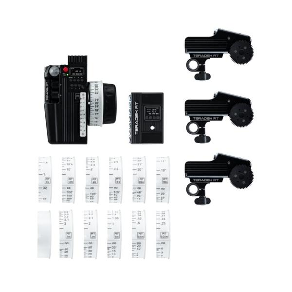 Teradek RT CTRL.3 Deluxe Wireless Lens Control Kit (3-Motor)