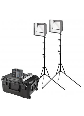 Westcott Flex Daylight LED 2-Light Cine Travel Kit 1x 1
