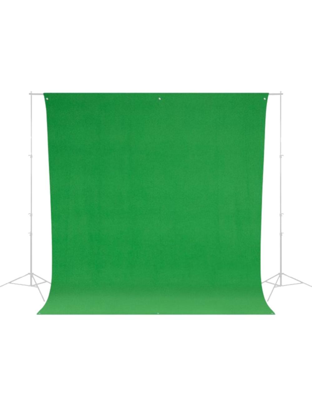 Westcott Wrinkle-Resistant Backdrop - Chroma-Key Green