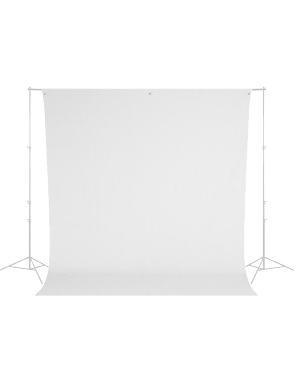 Westcott Wrinkle-Resistant Backdrop - High-Key White