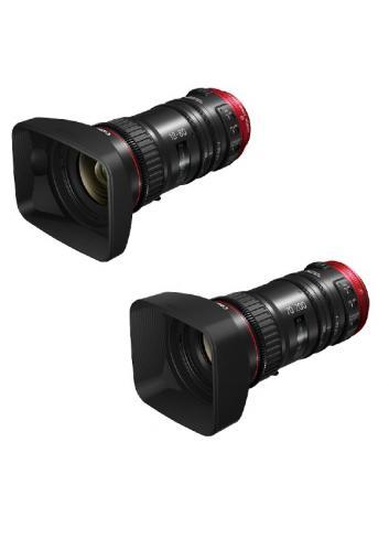 Canon CN-E EF CINE Servo LENS COMBO KIT