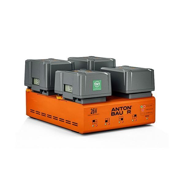 Anton Bauer 26V LPD Quad Gold Mount Plus Discharger