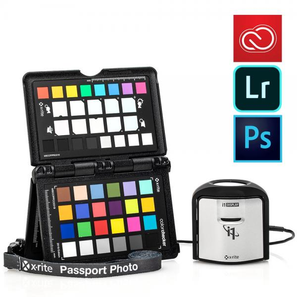 X-Rite i1 ColorChecker Pro Photo Kit including Adobe Creative Cloud Photography