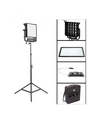 Litepanels Kit Pro Gemini 1x1 Soft  - V-Mount