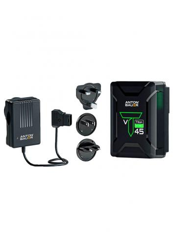 Anton Bauer kit  Titon Micro 45 y P-Tap Charger