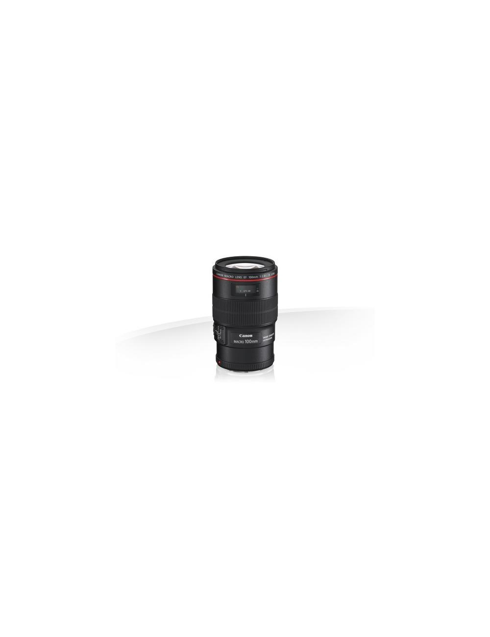 Canon - EF 100 MACRO IS USM
