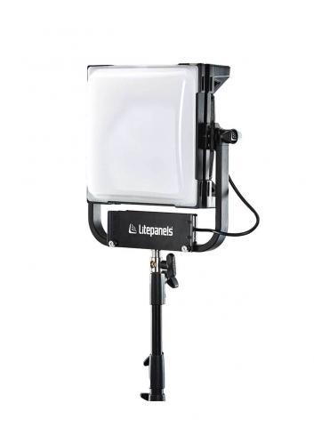 Litepanels Gemini 1x1 Hard Pole operated yoke UE