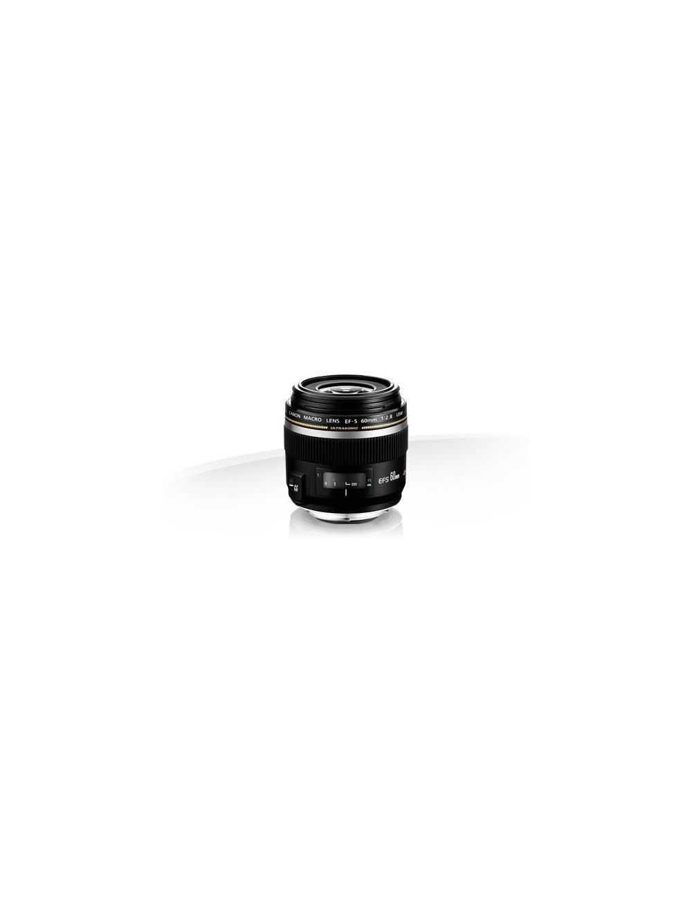 Canon - EF-S 60 MM 2.8 USM MACRO