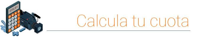 Calcula cuota renting