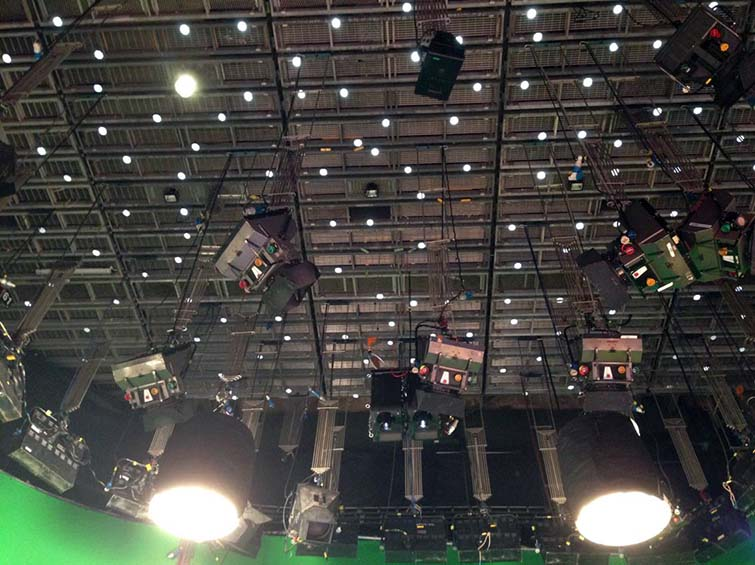 mosys startracker ceiling stars