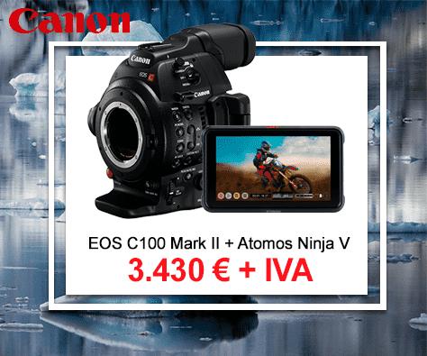 canon c100 marki ii atomos ninja v bundle