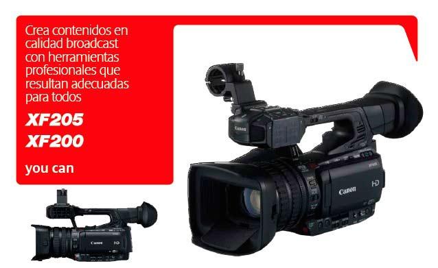 Canon xf200 xf205