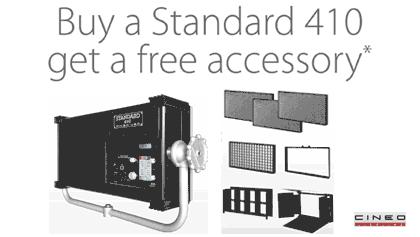 standard 410 accesorios gratis