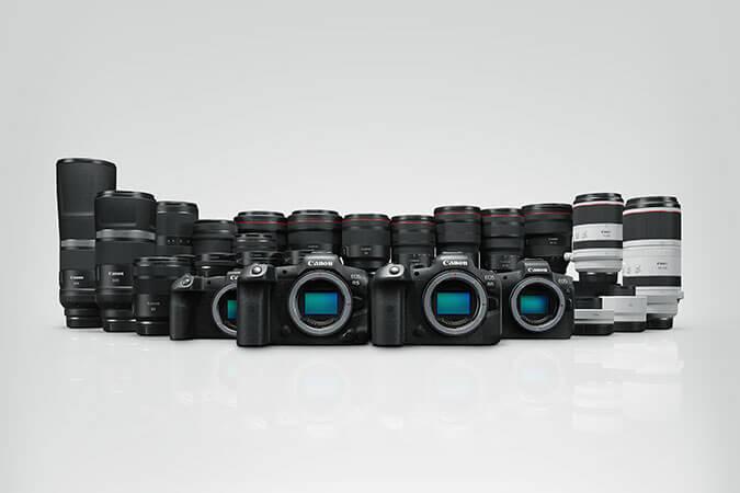 Canon R5 R6 Familia